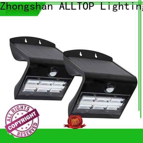 ALLTOP modern solar pir wall light manufacturer highway lighting