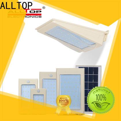 ALLTOP modern solar led wall lamp series for street lighting