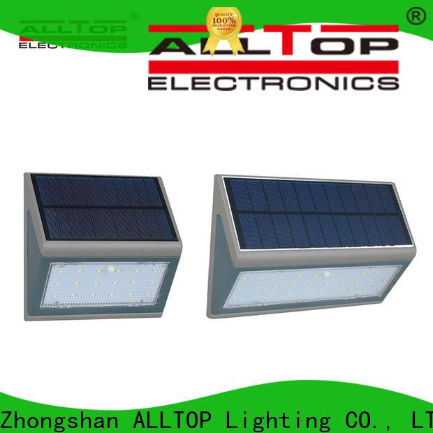 energy-saving solar led wall lamp wholesale for street lighting