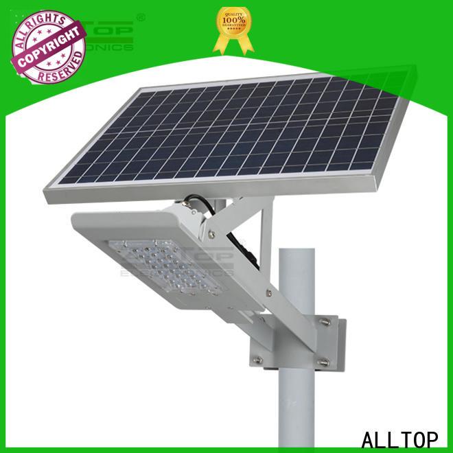 ALLTOP 20w solar street light factory for landscape