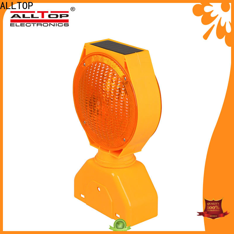 ALLTOP solar traffic light supplier for safety warning