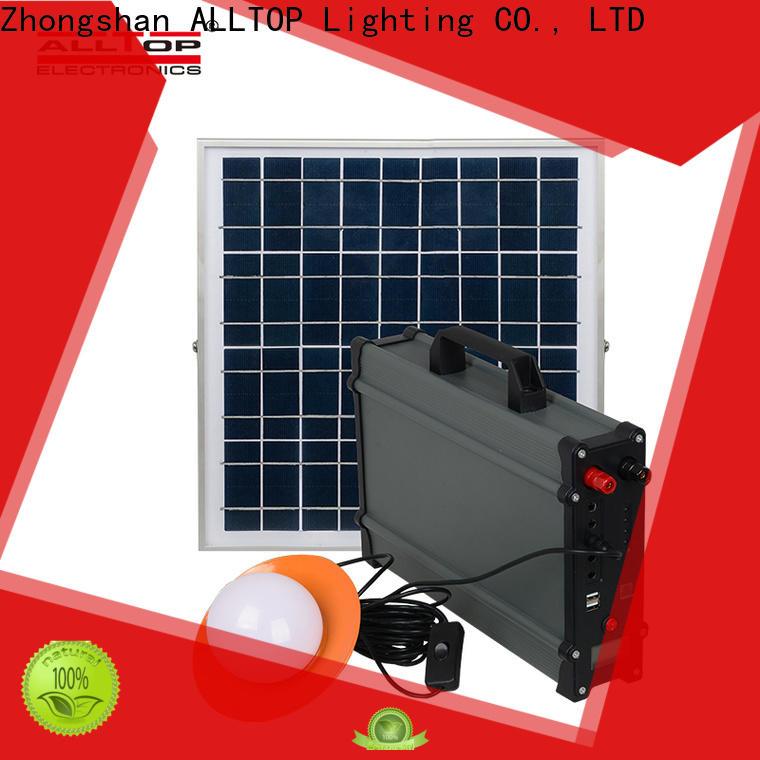 ALLTOP energy-saving solar panel system supplier for battery backup