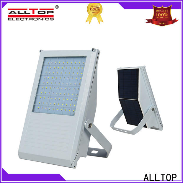 ALLTOP square solar floodlight factory for stadium