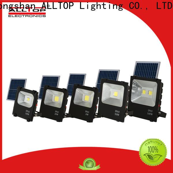ALLTOP rechargeable solar flood lights factory for stadium