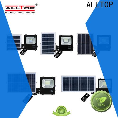 ALLTOP powered solar led flood lights manufacturers for stadium