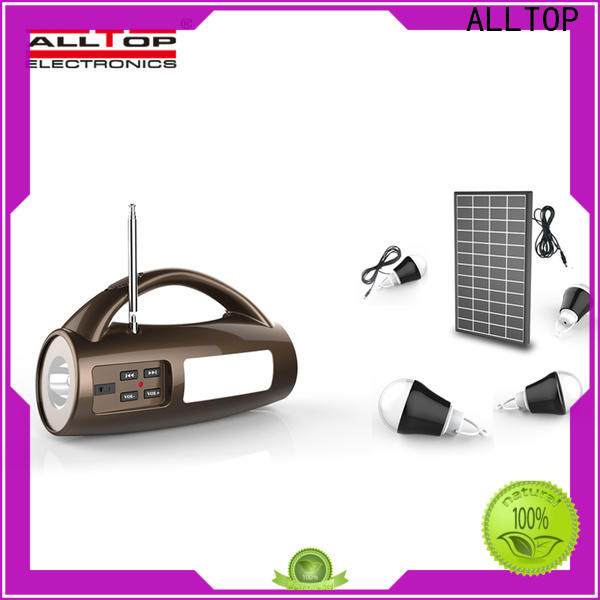ALLTOP solar panel system factory direct supply for battery backup