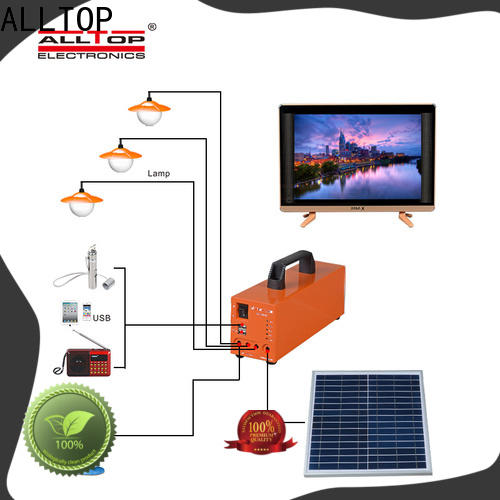 ALLTOP energy-saving customized solar powered flood lights directly sale for battery backup
