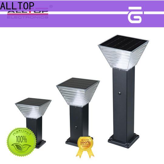 ALLTOP classical wholesale smart solar led garden light suppliers for landscape