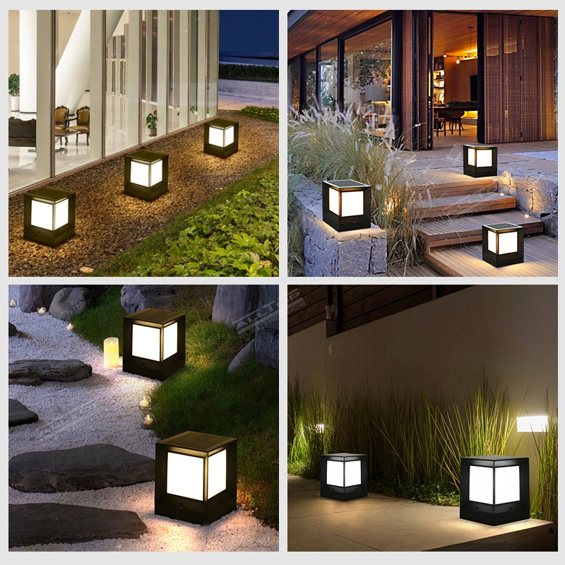 ALLTOP solar panel to power landscape lights manufacturers for landscape-11