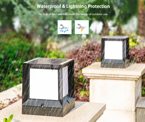 ALLTOP solar panel to power landscape lights manufacturers for landscape-5
