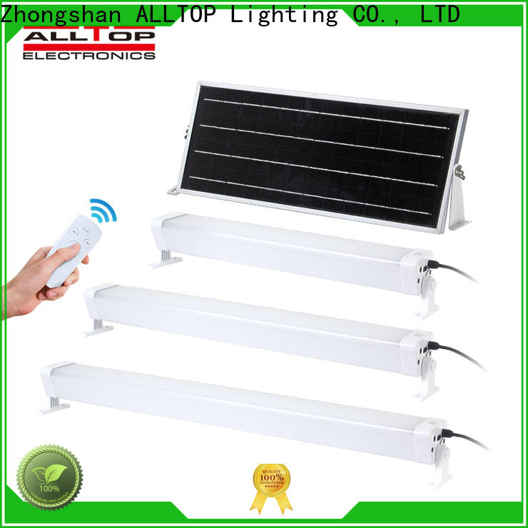 ALLTOP solar wall sconce with good price for street lighting