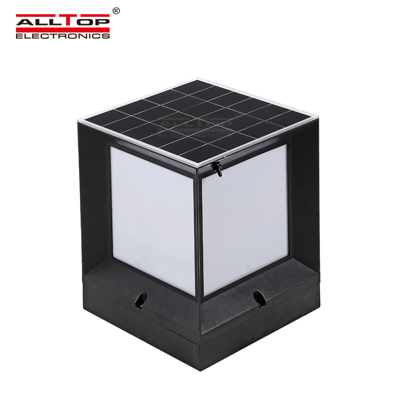 ALLTOP solar panel to power landscape lights manufacturers for landscape-2