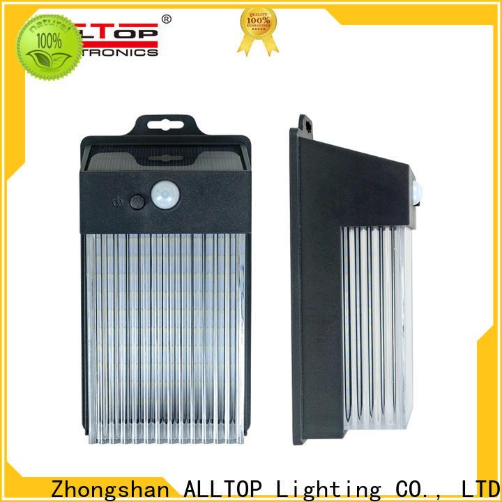 ALLTOP high quality solar wall lantern supplier for street lighting