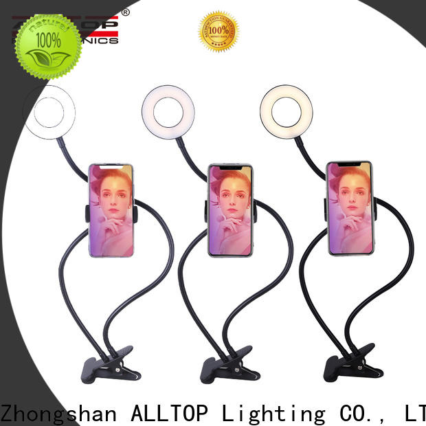 ALLTOP highly rated ring light manufacturer for camping