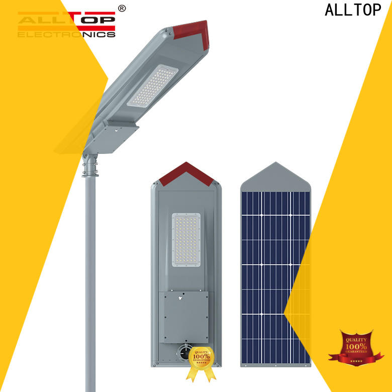 ALLTOP solar pole lights wholesale for garden