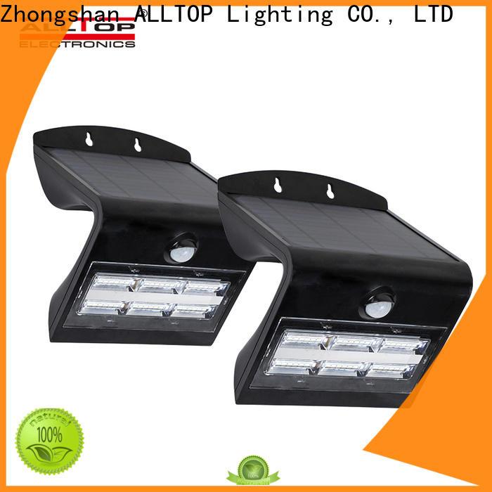 ALLTOP high quality solar pir wall light manufacturer for concert