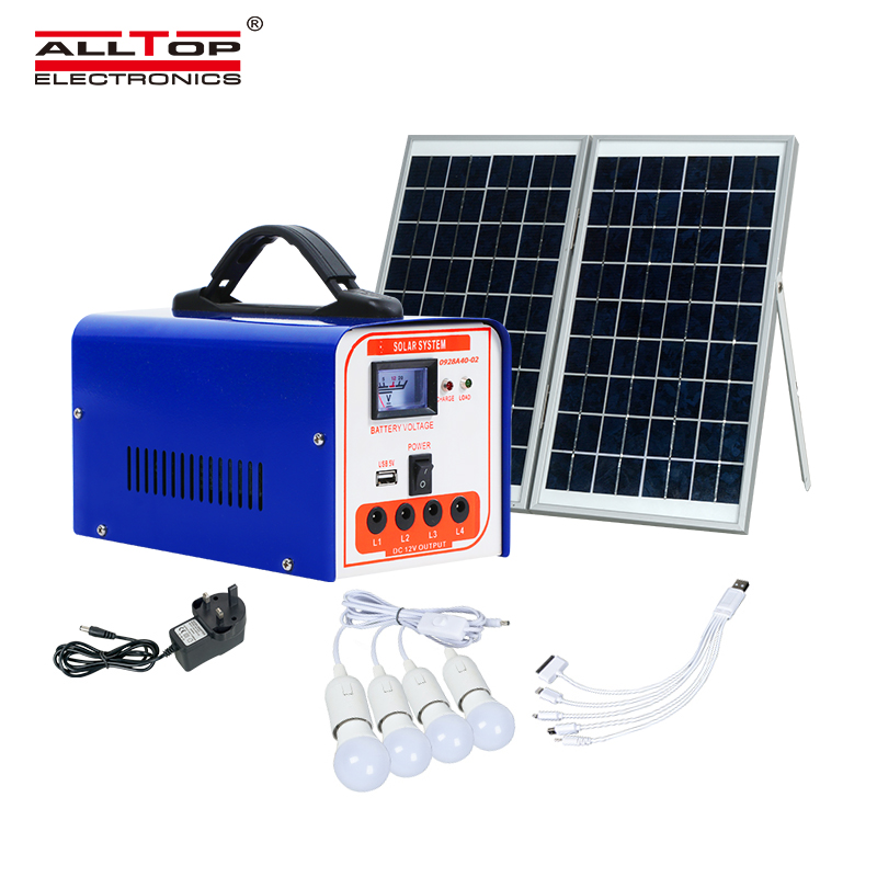 product-solar power generation system-ALLTOP -img
