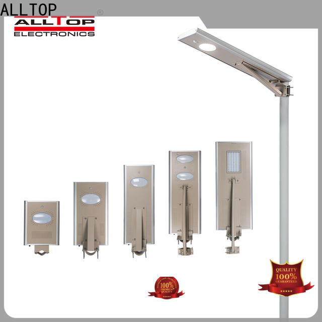 ALLTOP adjustable angle customized solar wall light supplier for garden