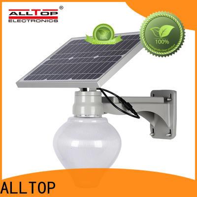 ALLTOP 20w solar street light wholesale for garden