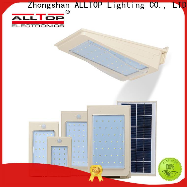 ALLTOP solar wall lights supplier for garden