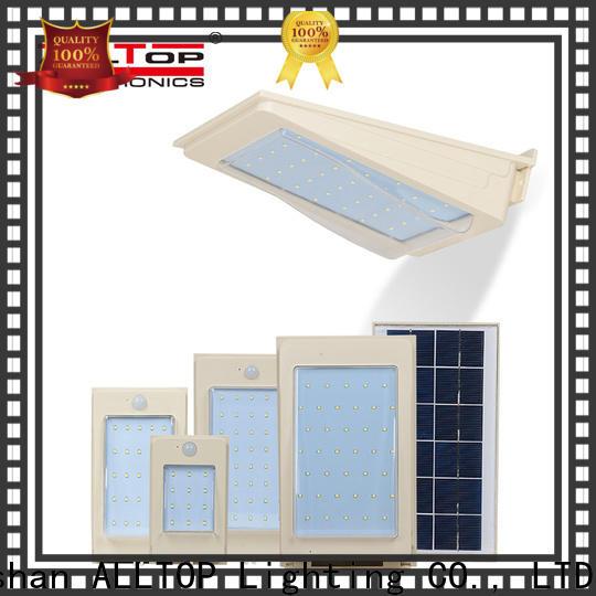 ALLTOP high quality solar led wall lamp manufacturer for street lighting