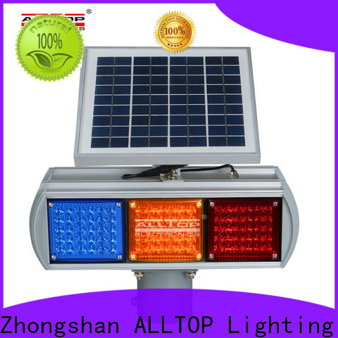 ALLTOP solar powered traffic lights suppliers supplier for safety warning