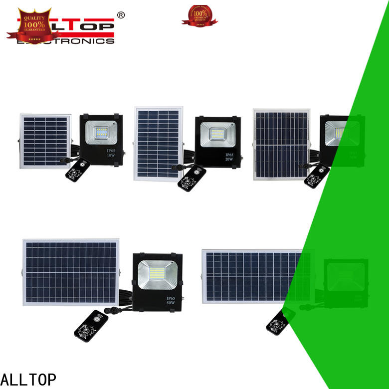 ALLTOP solar sensor flood lights suppliers for spotlight