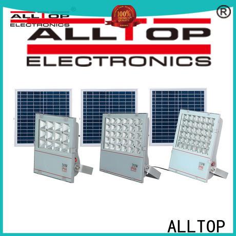 ALLTOP rechargeable solar flood lamp factory for spotlight