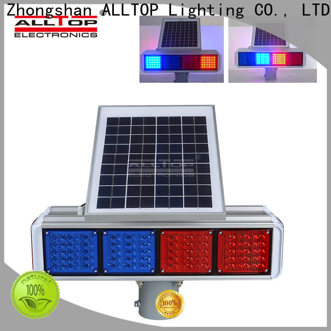 ALLTOP high quality solar traffic signal wholesale for safety warning