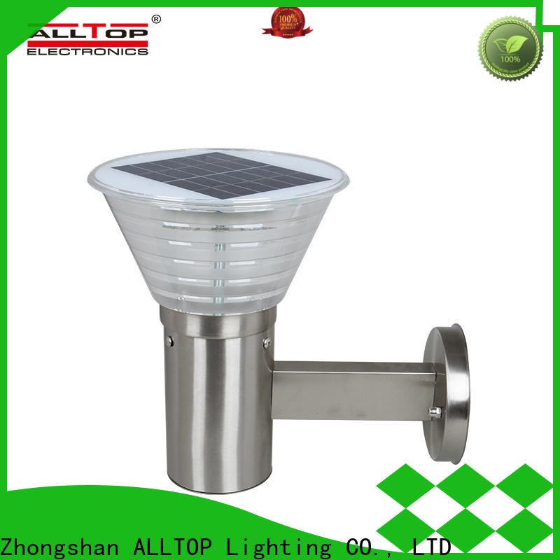 ALLTOP solar wall lantern supplier for garden