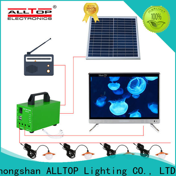 abs solar dc lighting system factory direct supply for camping