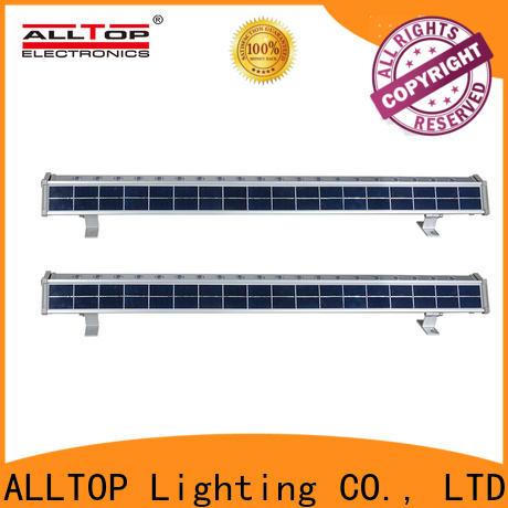 ALLTOP solar wall lamp factory direct supply for street lighting