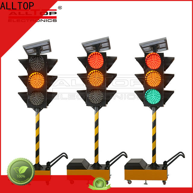 double side solar traffic signal factory for workshop