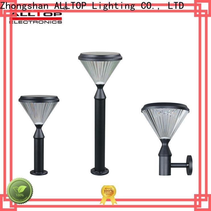 ALLTOP energy saving solar led garden light factory for decoration