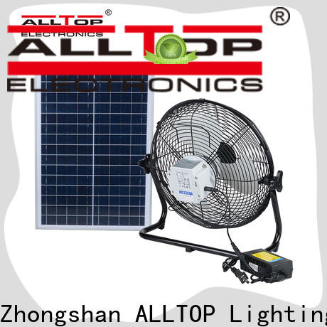 ALLTOP energy-saving customized solar powered flood lights supplier for battery backup
