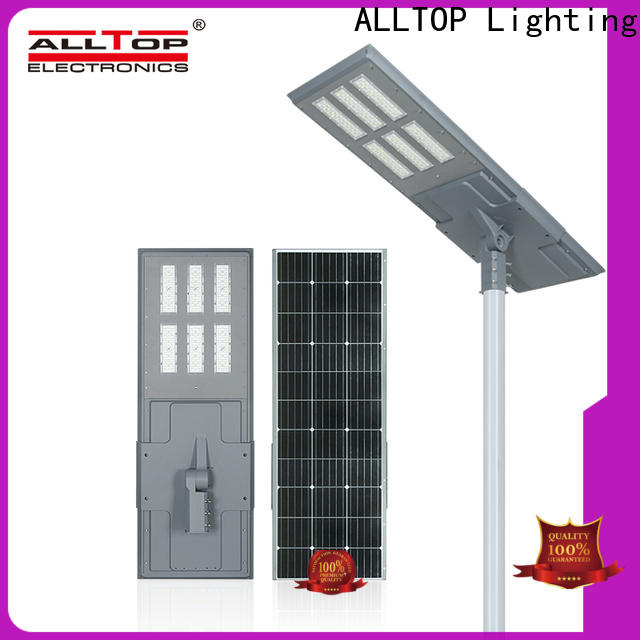high-quality led street light with solar panel manufacturer for highway