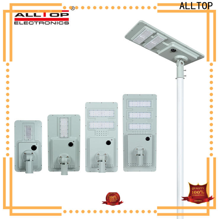 ALLTOP backyard street lights factory direct supply for road