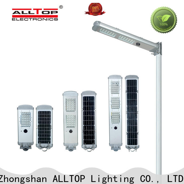 ALLTOP integrated types of solar street lights directly sale for garden