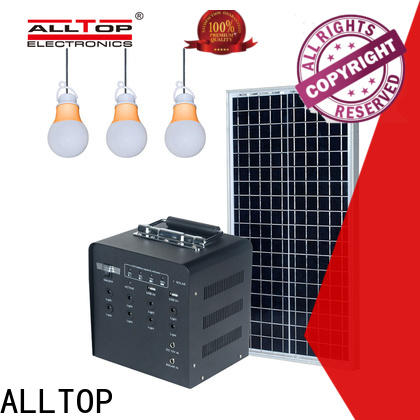 ALLTOP solar power system manufacturers series for camping