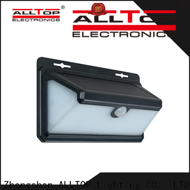 ALLTOP solar lights outdoor wall directly sale for garden
