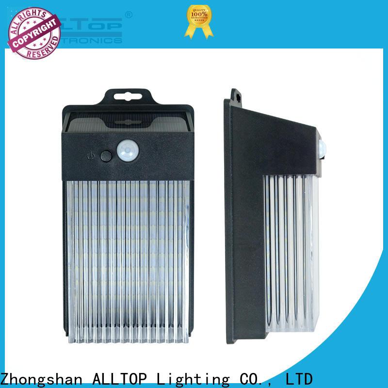 ALLTOP outdoor wall mounted solar lights factory direct supply for garden