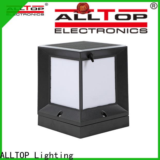 ALLTOP solar powered gate post lights
