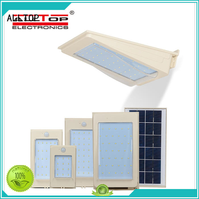 ALLTOP waterproof solar led wall pack factory direct supply for camping