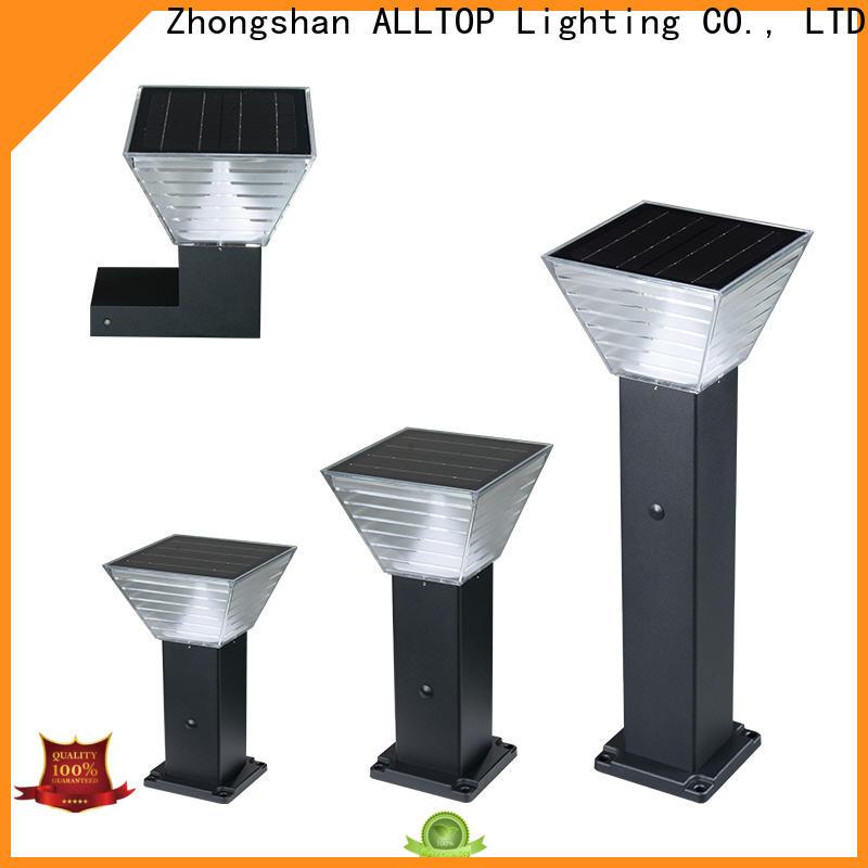 ALLTOP modern solar garden lights