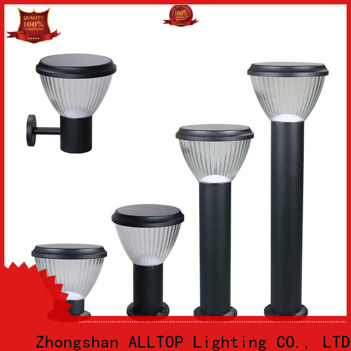 ALLTOP garden fence solar lights