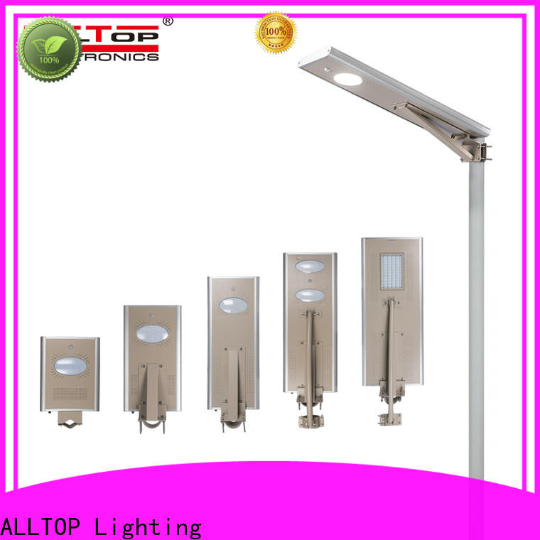ALLTOP adjustable angle outdoor led solar light with good price for highway