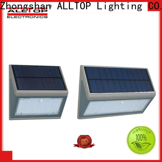 ALLTOP china solar wall light manufacturer for camping