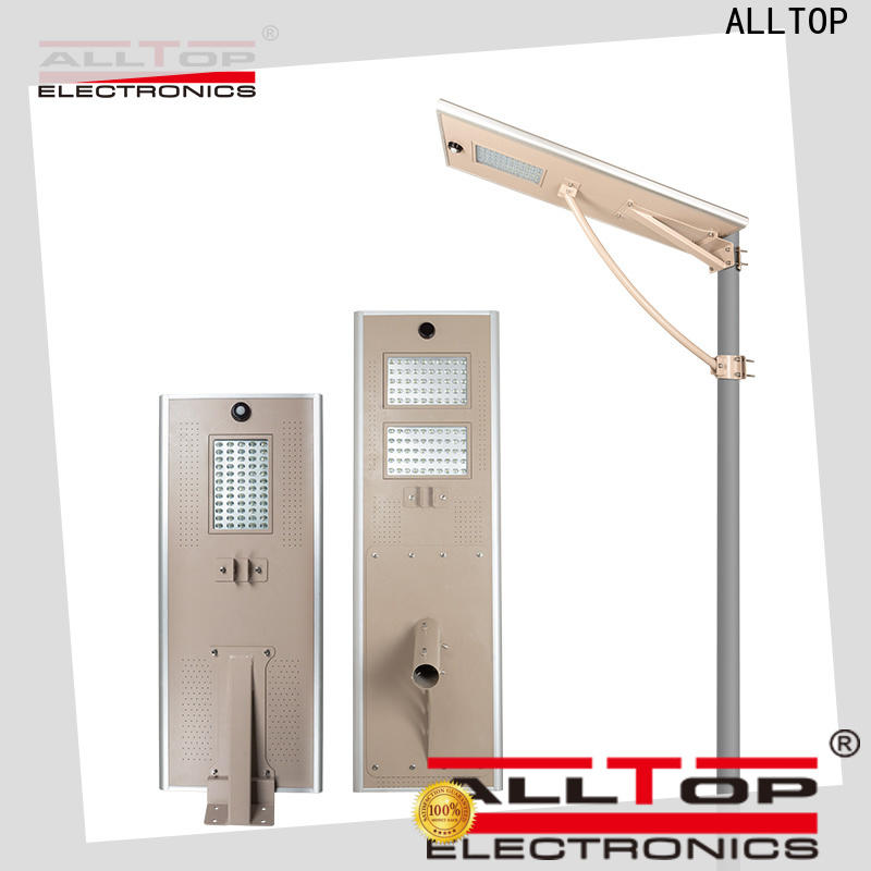 ALLTOP solar street light company directly sale for road