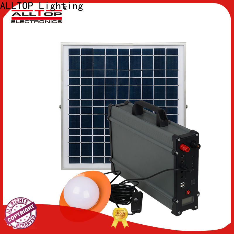 energy-saving solar dc home lighting system wholesale for outdoor lighting