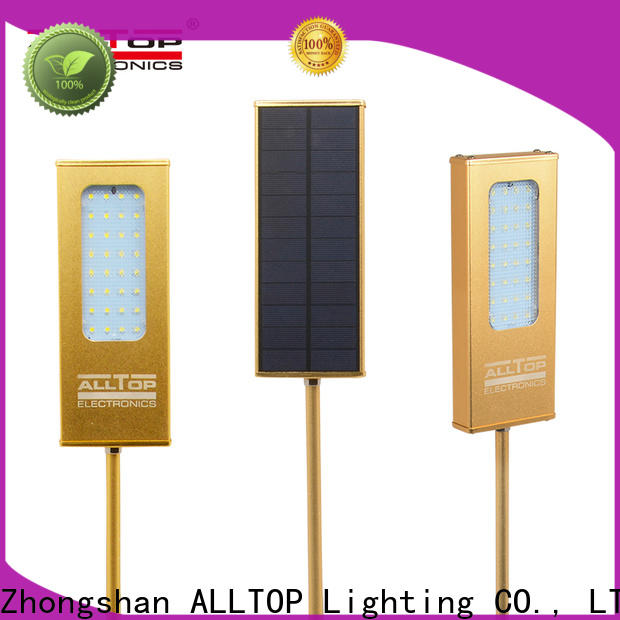 ALLTOP modern solar outside wall lights series for garden